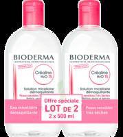 Crealine Ts H2o Solution Micellaire Sans Parfum Nettoyante Apaisante 2fl/500ml à STRASBOURG