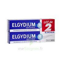 Elgydium Dentifrice Duo Blancheur Tube 2x75ml à STRASBOURG