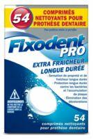 Fixodent Pro Comprimés Nettoyant Fraîcheur Longue Durée Pour Prothèse Dentaire B/54 à STRASBOURG