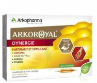 Arkoroyal Dynergie Ginseng Gelée Royale Propolis Solution Buvable 20 Ampoules/10ml à STRASBOURG