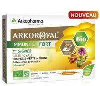 Arkoroyal Immunité Fort Solution Buvable 20 Ampoules/10ml à STRASBOURG