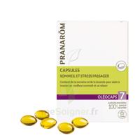 Pranarom Oleocaps 7 Caps Sommeil & Stress Passager à STRASBOURG