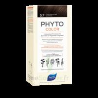 Phytocolor Kit Coloration Permanente 5.7 Châtain Clair Marron à STRASBOURG