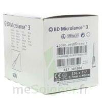 Bd Microlance 3, G22 1 1/2, 0,7 M X 40 Mm, Noir  à STRASBOURG