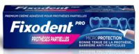 Fixodent Pro Crème Adhésive Pour Prothèse Partielle T/40g à STRASBOURG