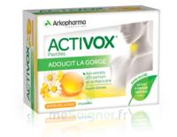 Activox Sans Sucre Pastilles Miel Citron B/24 à STRASBOURG